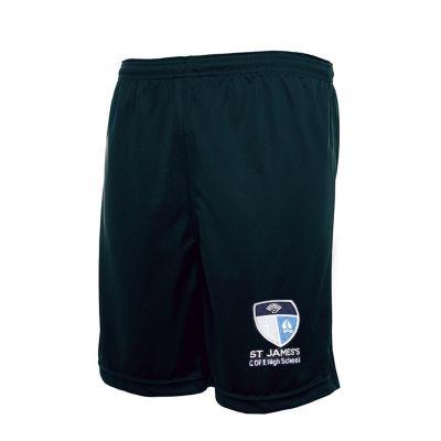 St James's Church of England High School PE Shorts For Boys & Girls