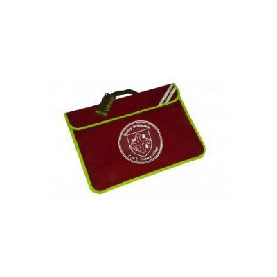 Bishop Bridgeman Book Bag With Logo