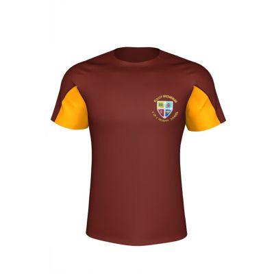 Bishop Bridgeman PE T-Shirt Boys / Girls With Logo