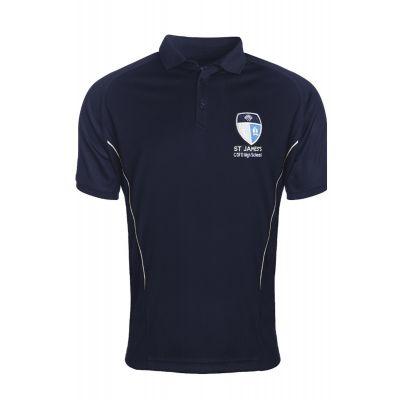 St James's Church of England High School Boys' PE Polo Shirt