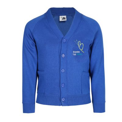 Brownlow Fold School Cardigan With Logo