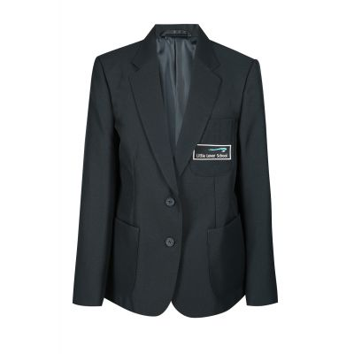 Little Lever Secondary School Girls Blazer With Logo