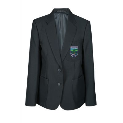 Glenboig School Girls Blazer With Logo