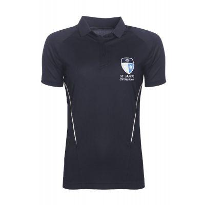 St James's Church of England High School Girls' PE Polo Shirt