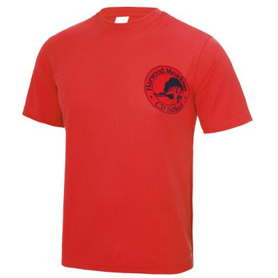 Harwood Meadows Neoteric P.E T-Shirt With Logo