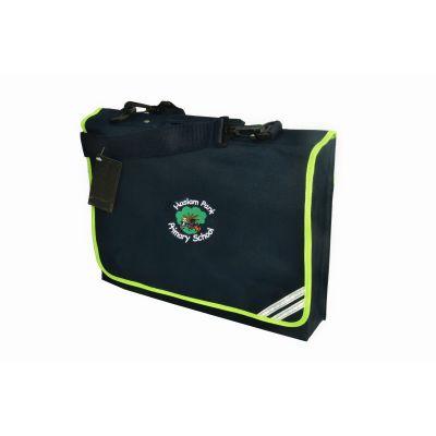 Haslam Park Book Bag With Shoulder Strap & Logo