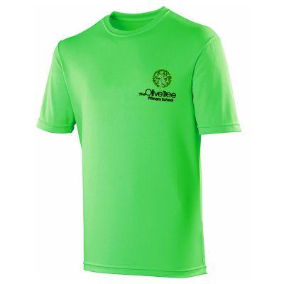 Olive Tree Primary School Logo PE T-Shirt