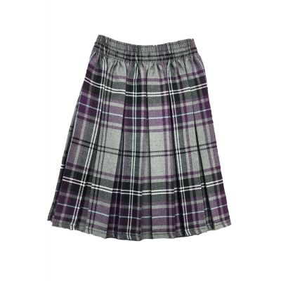 Glenboig School Girls Tartan Skirt