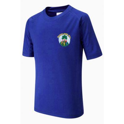 Markland Hill School PE T-Shirt Boys / Girls With Logo