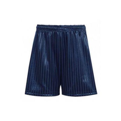 PE Navy Shorts