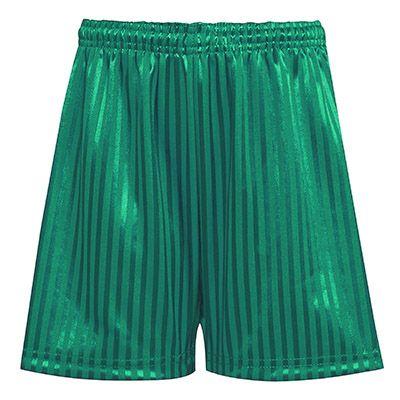 Emerald Green PE Football Shorts