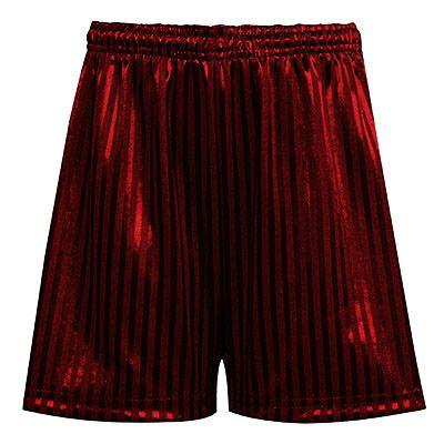 PE Maroon Shorts