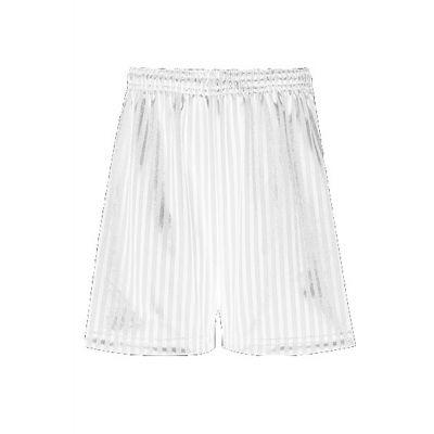 PE White Shorts