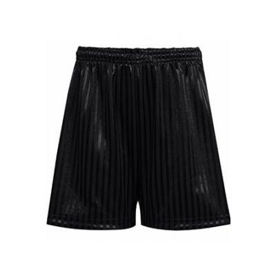 PE Black Shorts