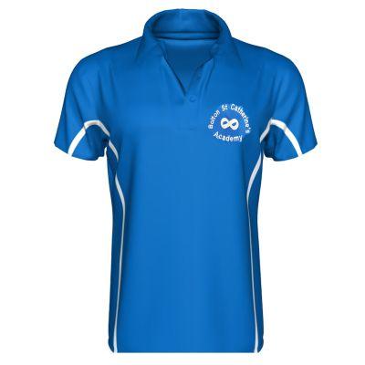 St Catherine's Academy Boys' & Girls' Polo Shirt For P.E