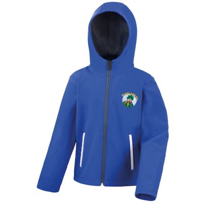 Markland Hill School Soft Shell Jacket Boys / Girls With Logo