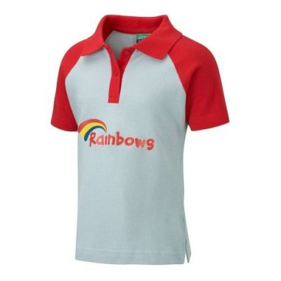 RAINBOWS UNIFORM GIRLS POLO SHIRT