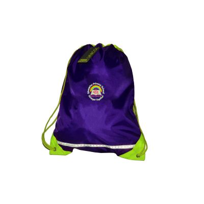 Sharples Primary School PE Bag With Logo