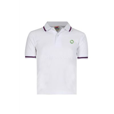 Olive School Polo Shirt With Logo