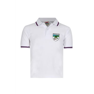 Glenboig School Polo Shirt With Logo