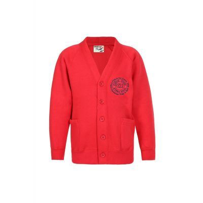 Oxford Grove Primary School Logo Red Cardigan