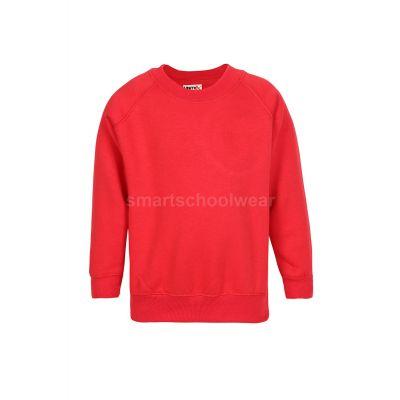 Primary School Plain Red Sweatshirt
