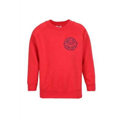 Oxford Grove Primary School Logo Red Sweatshirt