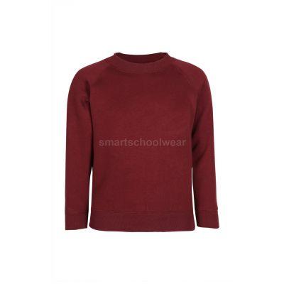 Primary School Plain Maroon Sweatshirt