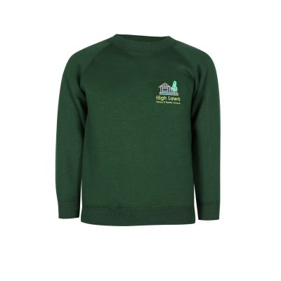 High Lawn Sweatshirt With Logo