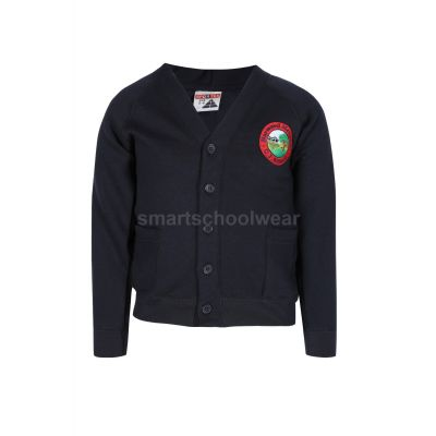 Harwood Meadows Cardigan With Logo
