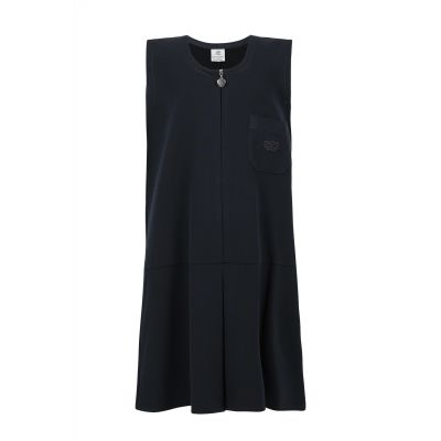 Girls Navy Blue Pinafore