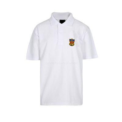 Canon Slade White PE Polo Shirt