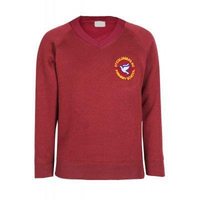 St Columba's R C Primary Year 6 V Neck Sweatshirt