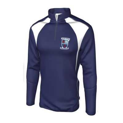 Turton High School 1/4 Zip Top For P.E